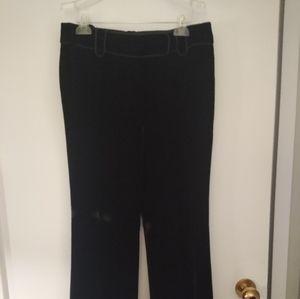 Ann Taylor black Velvet pants